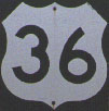 US 36 sign